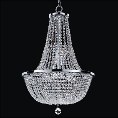 Synergy 8-Light Empire Chandelier Size: 27.5