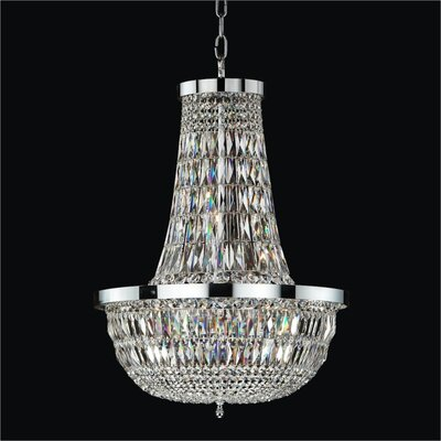 Lucia 8-Light Empire Chandelier Size: 28.5