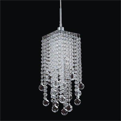 Cohen-Arazi 1-Light Crystal Mini Pendant