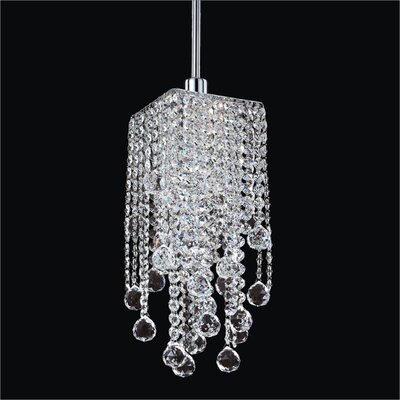 Cohen-Arazi Contemporary 1-Light Crystal Mini Pendant