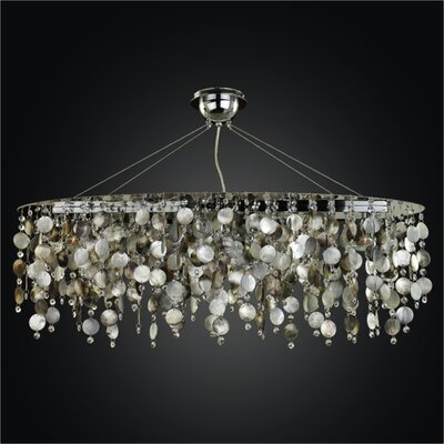 Midnight Pearl 5-Light Kitchen Island Pendant