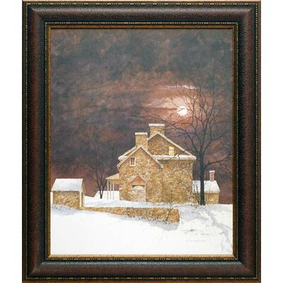 'Rust Moon' by Ray Hendershot Framed Painting Print N1171