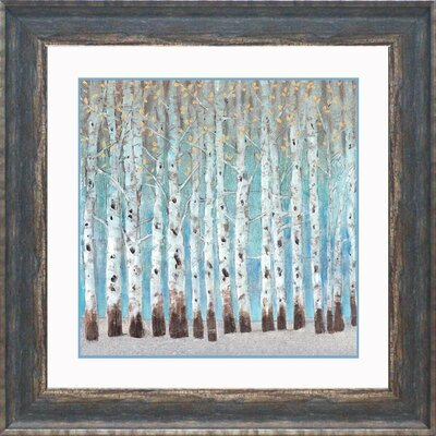 'Into the Forest II' Framed Graphic Art Print
