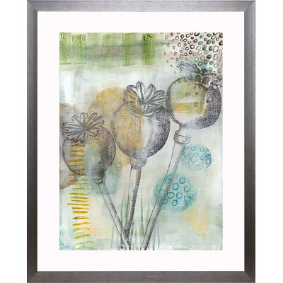 'Seed Pod Composition II' Framed Graphic Art Print Size: 24