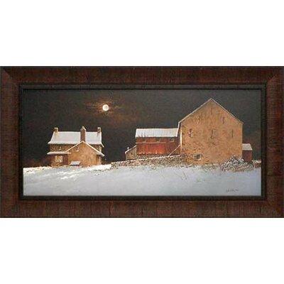 Late Snow by Ray Hendershot Framed Painting Print N1164