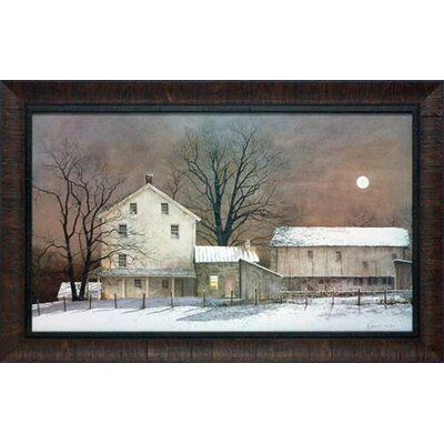 'Full Moon' by Ray Hendershot Framed Painting Print N1170