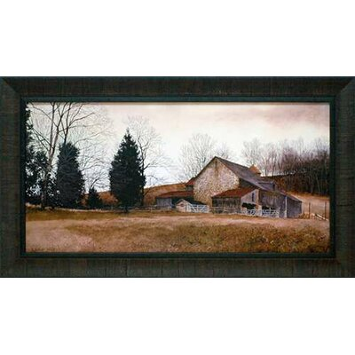 Farm on the Hill by Ray Hendershot Framed Painting Print N1172