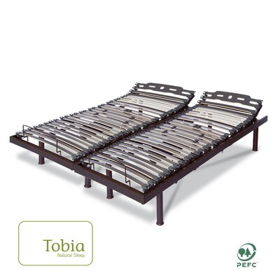 Electric T Adjustable Bed Size: 24.5 H x 60 W x 80 L