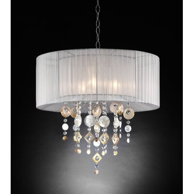 Brookville 3-Light Drum Pendant