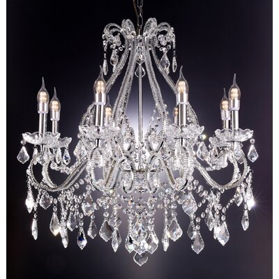 Nola 8-Light Crystal Chandelier