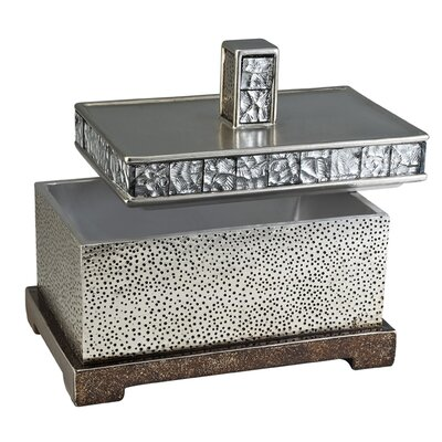 Mirror Tiles Rectangular Decorative Box OK-4239-JX1