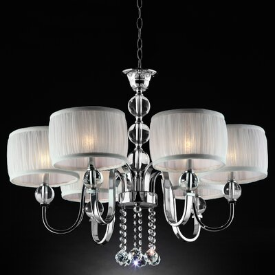 Elizabella 6-Light Drum Chandelier