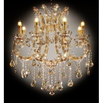 Gallant 8-Light Crystal Chandelier