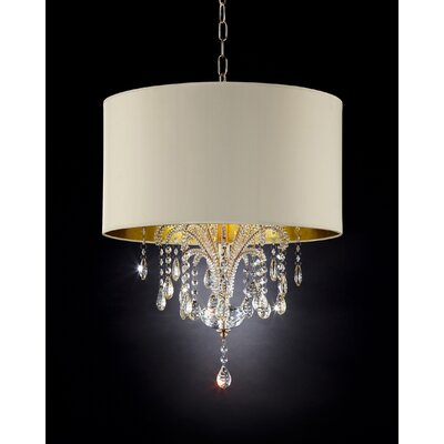Amoruccio 3-Light Drum Chandelier