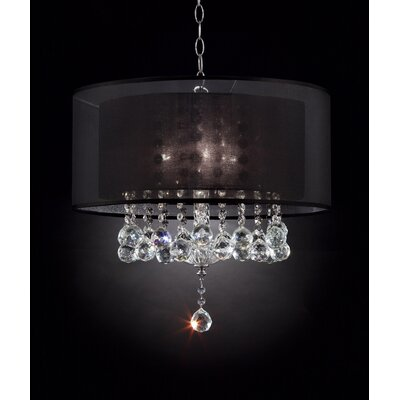 Effleurer 3-Light Drum Chandelier