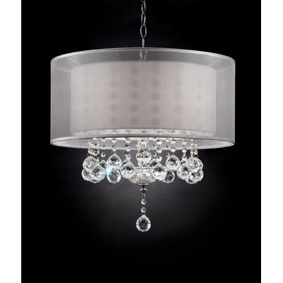 Moiselle 3-Light Drum Chandelier