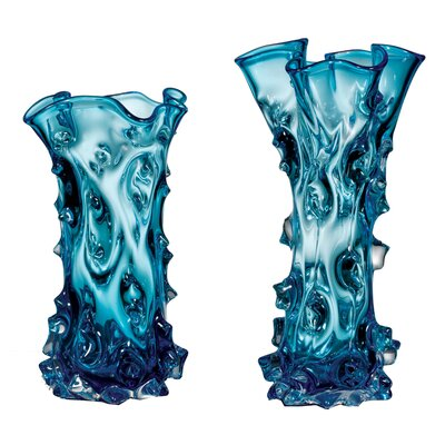 Lazuli 2-Piece Glass Vase LG-5807-21