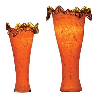 Girasol 2-Piece Glass Vase LG-5809-21