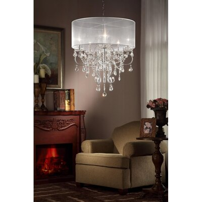 Evangelia 5-Light Drum Chandelier