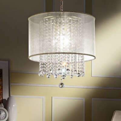 Bottrell 3-Light Drum Chandelier