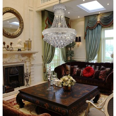 Adagio 12-Light Empire Chandelier