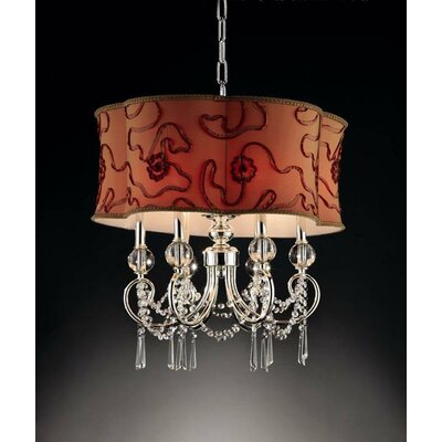 Amere 6-Light Drum Pendant