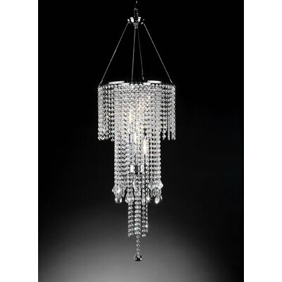 Broomfield 5-Light Crystal Chandelier