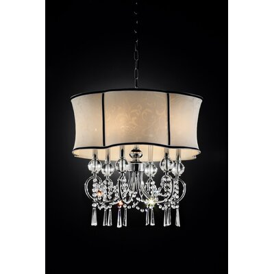 Nuvola 6-Light Drum Chandelier