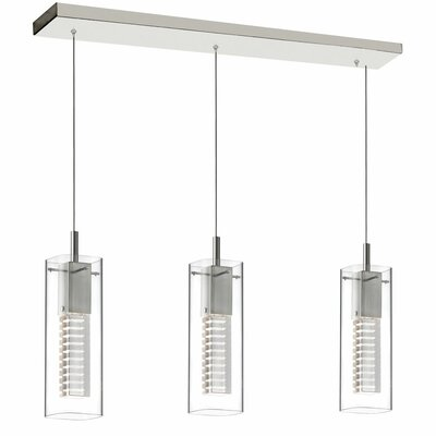 Orly 3-Light Kitchen Island Pendant