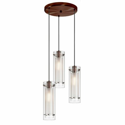Orly 3-Light Kitchen Island Pendant Base Finish: Oil Brushed Bronze