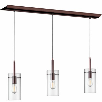 Nostalgia 3-Light Kitchen Island Pendant