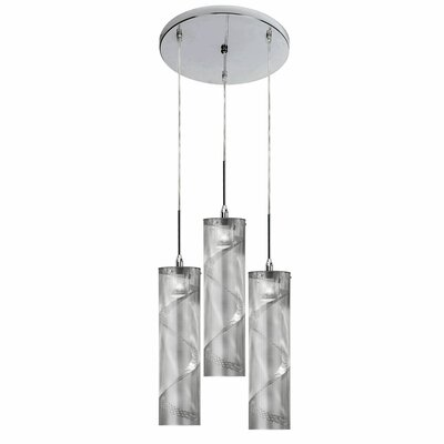 Umbra 3-Light Cascade Pendant