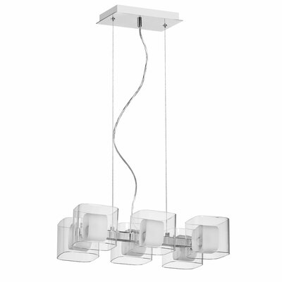 Courtney 6-Light Kitchen Island Pendant