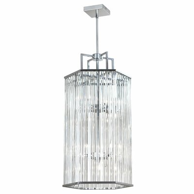 Aruba 8-Light Foyer Pendant Finish: Polished Chrome