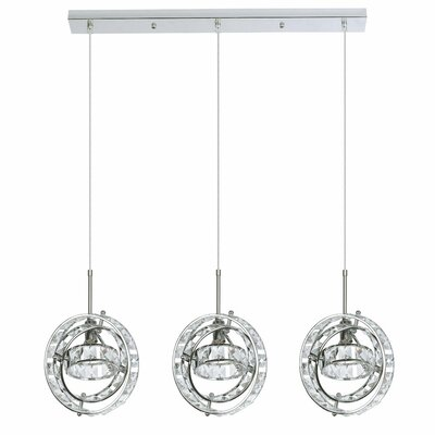 Cassini 3-Light Kitchen Island Pendant