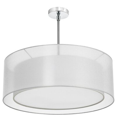 Melissa 4-Light Drum Pendant