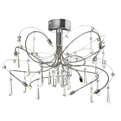 Firefly 10-Light Semi Flush Mount