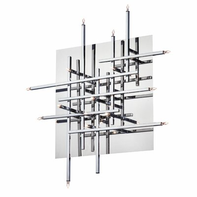 Mondrian 16-Light Flush Mount