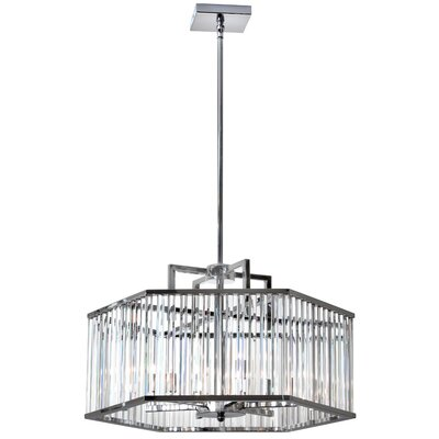 Aruba 6-Light Foyer Pendant Finish: Polished Chrome