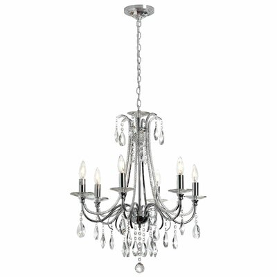 Ella 6-Light Crystal Chandelier