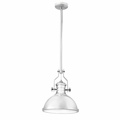 Nasquin 1-Light Mini Pendant Finish: Satin Chrome