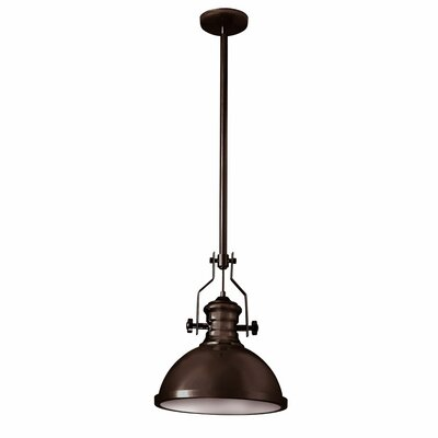 Nasquin 1-Light Mini Pendant Finish: Vintage Oiled Bronze