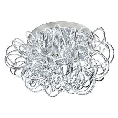 Kash 4-Light Flush Mount Finish: Polished Chrome