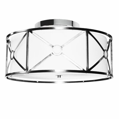 Cruz 4-Light Semi-Flush Mount Finish: Polished Chrome