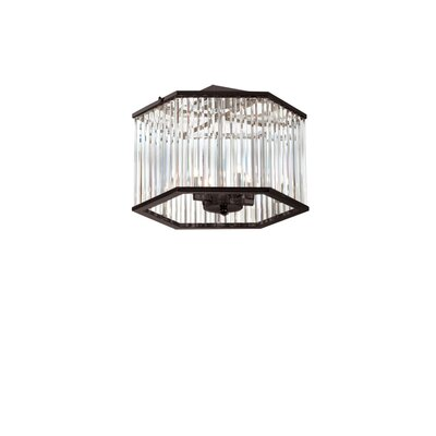 Dru 4-Light Semi Flush Mount