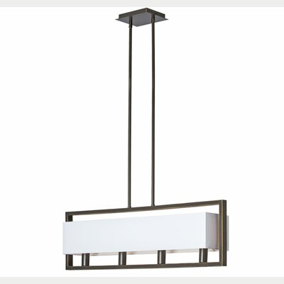 Larkin 4-Light Kitchen Island Pendant Finish: Vintage Oiled Brushed Bronze