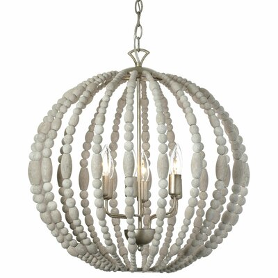 Laura 6-Light Globe Pendant