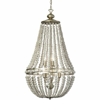 Laura 6-Light Candle-Style Chandelier