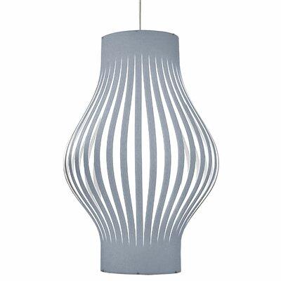 Toro 6-Light Geometric Pendant Shade Color: Silver