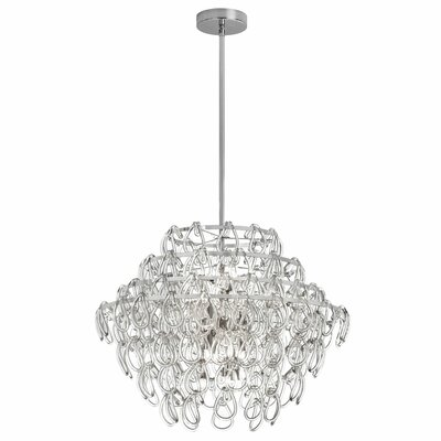 Cristallo 12-Light Geometric Pendant